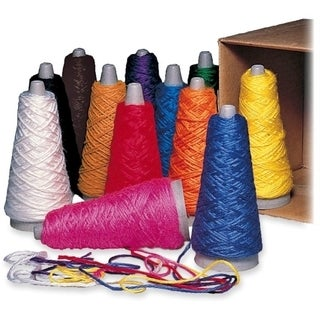 Pacon Double Weight Yarn Cones (Box of 12)