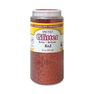 Pacon Spectra Glitter Sparkling Red Crystals