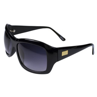 Unisex Black Acetate Sunglasses