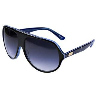 Goetz Switzerland Black with Blue Line Sunglasses