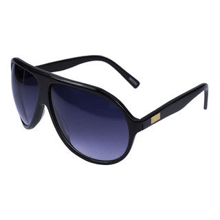 Gotz Switzerland UVA 400 Aviator Black Acetate Sunglasses