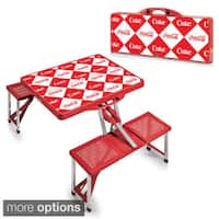 Picnic Time Coca-Cola Theme Picnic Table