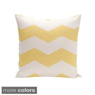 Decorative Outdoor Chevron Print 20-inch Pillow