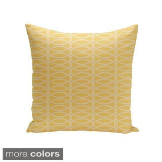 Decorative Outdoor Abstract Geometric 20-inch Pillow