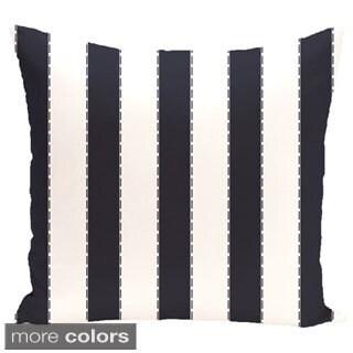 Decorative Outdoor Stripe 20-inch Pillow