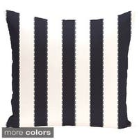 Decorative Outdoor Stripe 20-inch Pillow