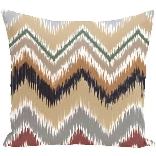 Decorative Outdoor Tribal Chevron Print 20-inch Pillow