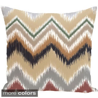 Decorative Outdoor Tribal Chevron Print 20-inch Pillow