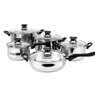 Magefesa Family 10-piece Stainless Steel Cookware Set