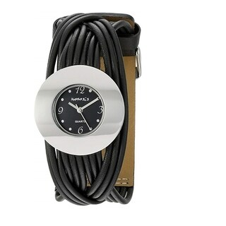 Nemesis Women's Black and Silver Tangled Watch
