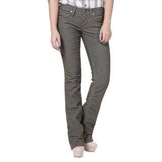 Stitch's Women's Straight Leg Jeans Soft Corduroy Trousers