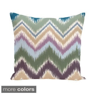 Striped Print 18 x 18-inch Decorative Pillow