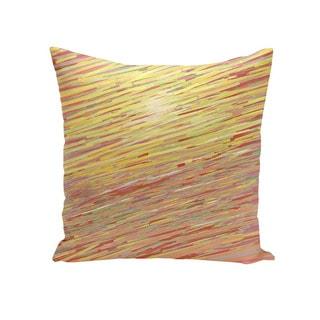 Coastal Print 18 x 18-inch Decorative Pillow