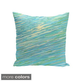 Coastal Print 18 x 18-inch Decorative Pillow