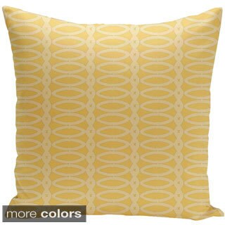 Geometric Print 18 x 18-inch Decorative Pillow (2 options available)