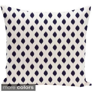 Geometric Print 18 x 18-inch Decorative Pillow