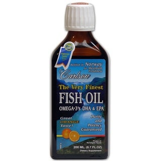 Carlson The Very Finest Orange 6.7-ounce Fish Oil