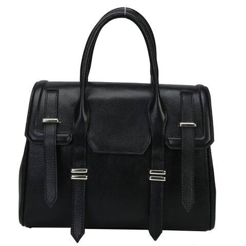 Mllecoco Genuine Leather Shoulder Handbag - Large