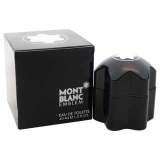 Mont Blanc Emblem Men's 1.3-ounce Eau de Toilette Spray