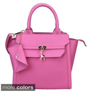Mllecoco Charm Leather Handbag with Coin Bag
