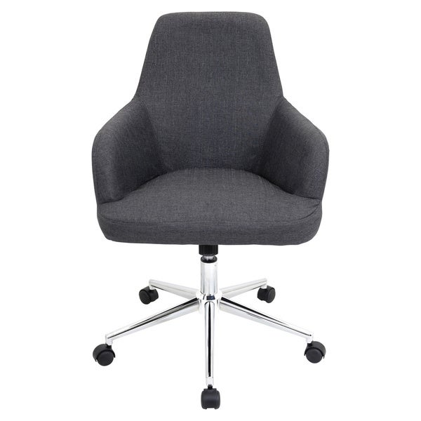 lumisource degree fabric office chair - free shipping today