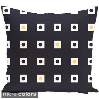 Geometric Print 18 x 18-inch Outdoor Fabric Pillow