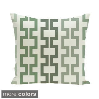 Geometric Print 18 x 18-inch Outdoor Fabric Pillow (3 options available)