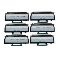 6-pack Replacing Lexmark E260 E260A11A Toner for E260D E260DN E260dt E260dtn E360dtn E360DN E460DN E360D E462dtn E460DW E460dtn