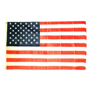 3X5 American Flag Nylon Embroided Stars