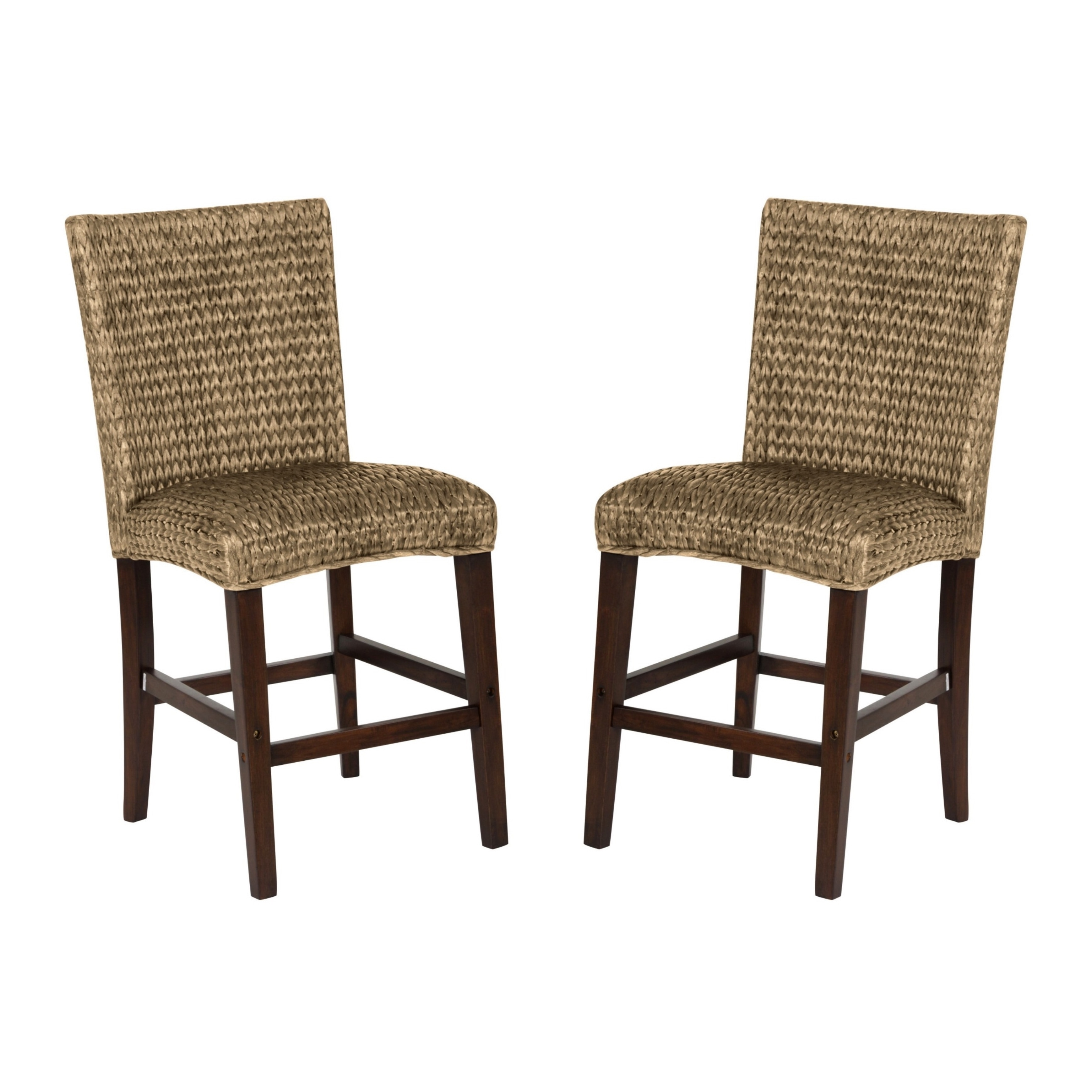 Uncategorized Woven Stools montgomery rattan woven counter height stools set of 2 ebay of