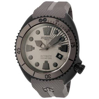 Zodiac ZO8014 Watch Oceanaire Mens Grey Dial Stainless Steel Case Automatic https://ak1.ostkcdn.com/images/products/10156710/P17285970.jpg?impolicy=medium