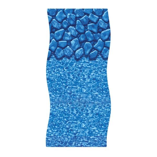 18' Round 48-inch/52-inch Boulder Swirl Overlap Pool Liner