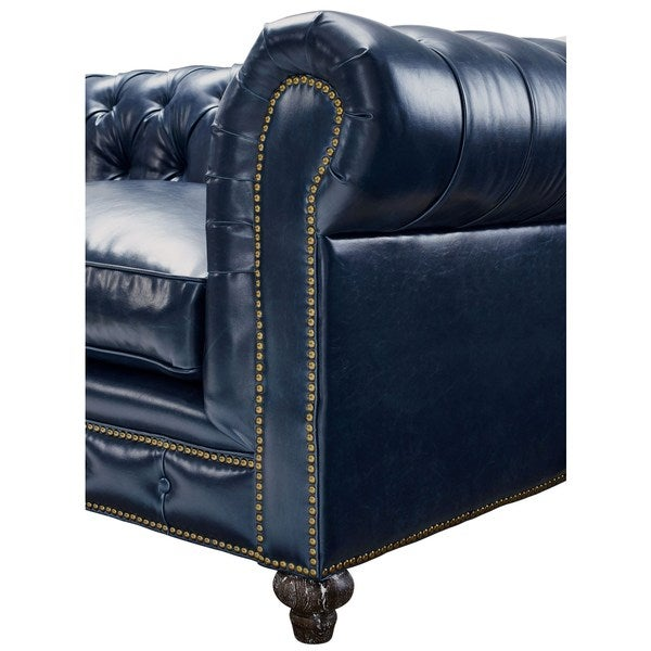 Durango Rustic Blue Leather Living Room Set   Free Shipping Today    Overstock.com   17286102 Part 48