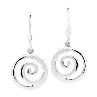 Handmade Modern Maze .925 Sterling Silver Dangle Swirl Earrings (Thailand)|https://ak1.ostkcdn.com/images/products/10156902/P17286193.jpg?impolicy=medium