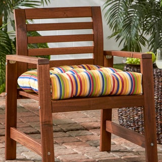 20-inch Sunbrella Outdoor Chair Cushion Stripe