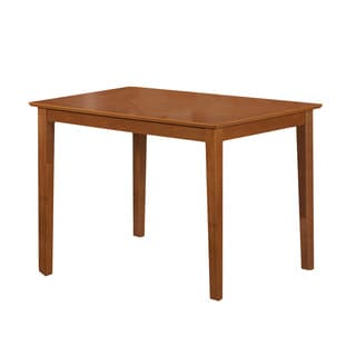 Light Cherry Wood Dining Table