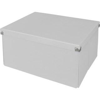 "Samsill Pop n' Store Mega Box - White - 15.5""x8.13""x12.63"""