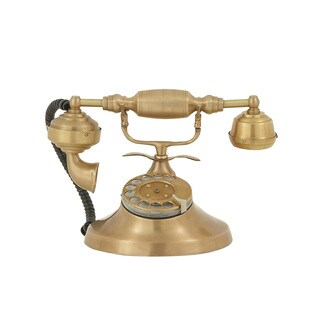 Nostalgic Brass Royal Telephone - Thumbnail 0