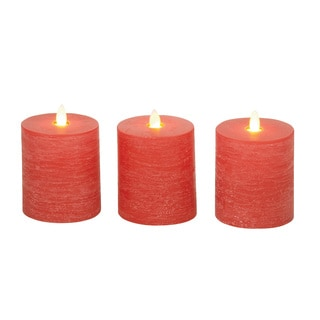 Classy Flameless Candle with Remote (Set of 3)