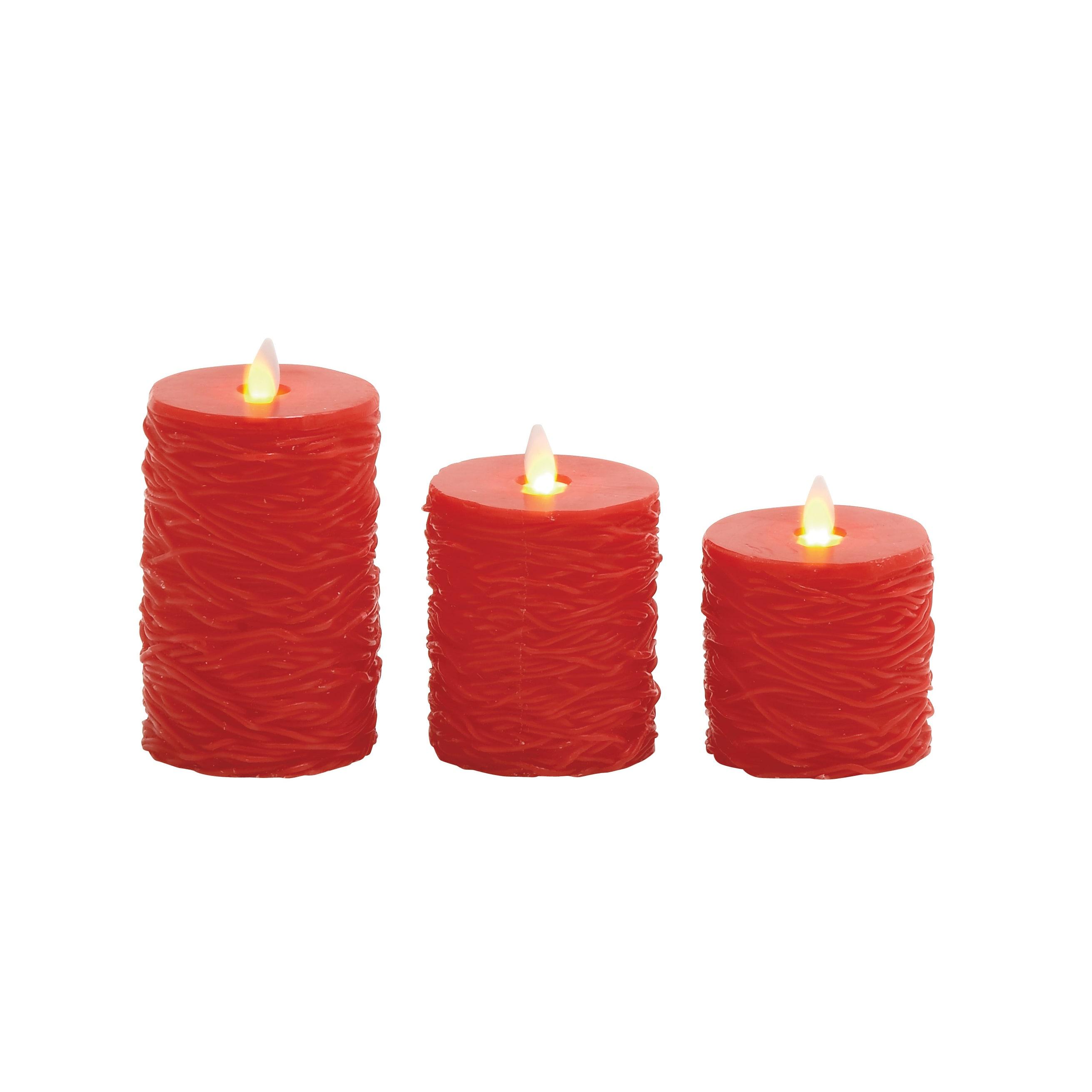 Benzara Safe Flameless Candle Remote (Set of 3) (Safe Set...