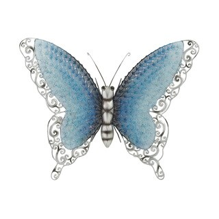 Maison Rouge Lamartine Blue Metal Butterfly