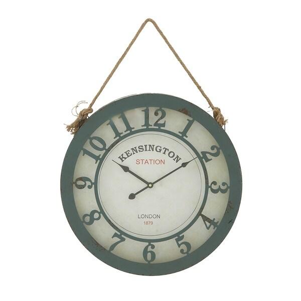 The Gray Barn Cocklebur Metal Wall Clock