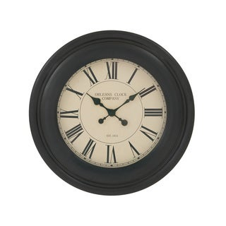Marvelous Wood 24-inch Wall Clock