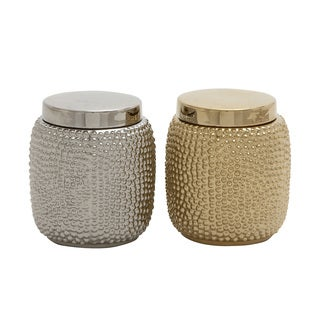 Carson Carrington Alavus Classy Ceramic Jar (Set of 2)