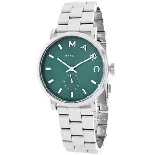Marc Jacobs Women's MBM3342 Baker Round Silvertone Bracelet Watch