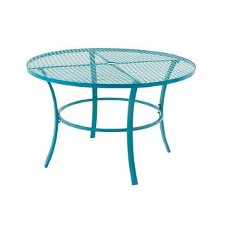 Beautiful Metal Round Outdoor Table