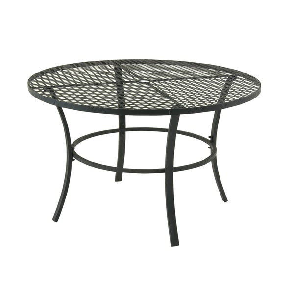 Shop Metal Round Outdoor Table Free Shipping Today