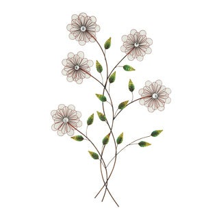 Enchanting and Exclusive Floral Metal Wall Decor