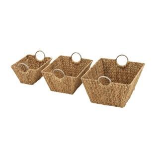 Outstanding Sea Grass Baskets (Set of 3)