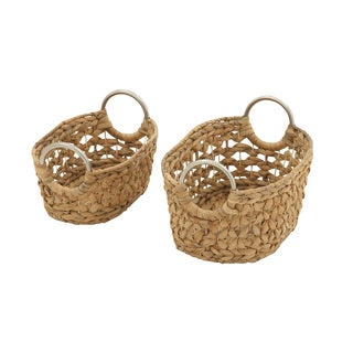 Captivating Sea Grass Baskets (Set of 2)